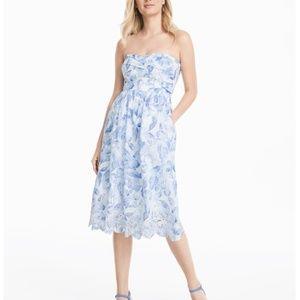 Like New! WHBM Strapless Sundress w POCKETS! Sz 14
